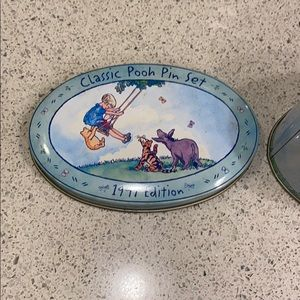 Disney Other - Classic Pooh Pin Set - 1997 Edition